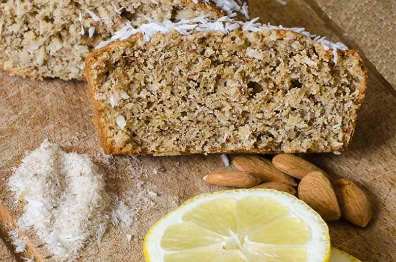 Gâteau citron coco amandes - sans gluten